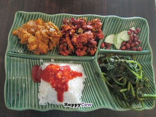 "Photo of CLOSED: Permai Village Cafe Vegetarian Delights  by <a href=""/members/profile/Fruity%20Suzanne"">Fruity Suzanne</a> <br/>Delicious nasi lemak <br/> October 28, 2013  - <a href='/contact/abuse/image/24687/57480'>Report</a>"