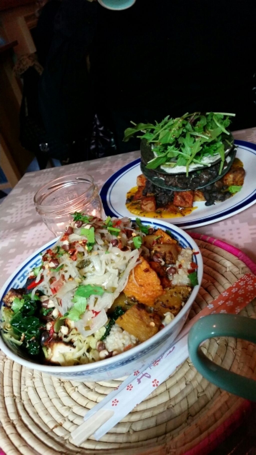 """Photo of Milgi  by <a href=""""/members/profile/konlish"""">konlish</a> <br/>Korean Rice Dish  and Mexican purple corn tortillas  <br/> May 7, 2016  - <a href='/contact/abuse/image/24701/147902'>Report</a>"""