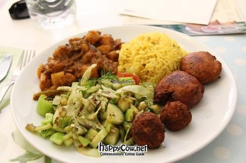 """Photo of CLOSED: Govinda - Beyoglu  by <a href=""""/members/profile/VeggieMon"""">VeggieMon</a> <br/>'Vegetarian Dish' <br/> May 20, 2012  - <a href='/contact/abuse/image/24710/31976'>Report</a>"""
