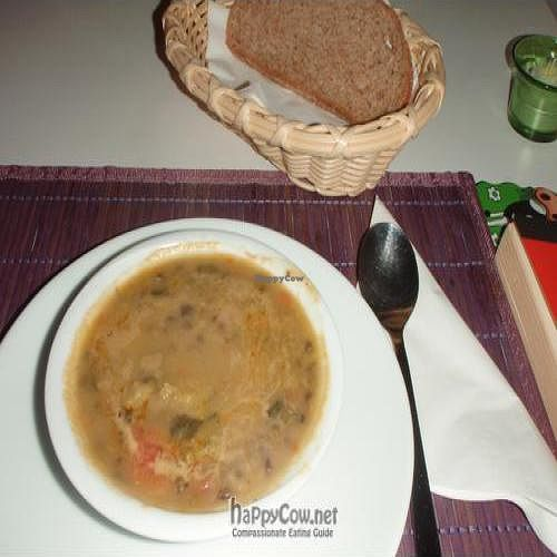 """Photo of CLOSED: Govinda - Beyoglu  by <a href=""""/members/profile/Jepulis"""">Jepulis</a> <br/>The started soup of the vegan lunch <br/> February 12, 2011  - <a href='/contact/abuse/image/24710/7366'>Report</a>"""