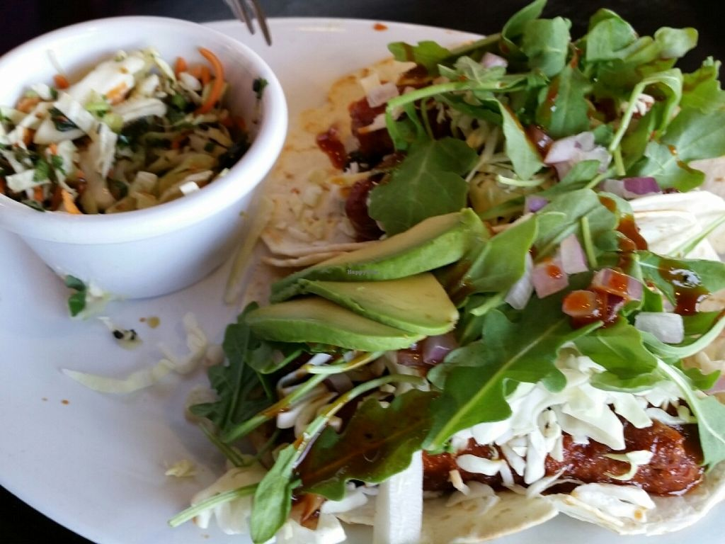 """Photo of Veggie Grill  by <a href=""""/members/profile/eric"""">eric</a> <br/>Korean tacos  <br/> June 25, 2016  - <a href='/contact/abuse/image/24737/155976'>Report</a>"""