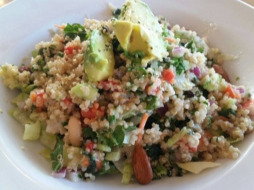 """Photo of Veggie Grill  by <a href=""""/members/profile/eric"""">eric</a> <br/>quinoa power salad <br/> October 17, 2016  - <a href='/contact/abuse/image/24737/182723'>Report</a>"""