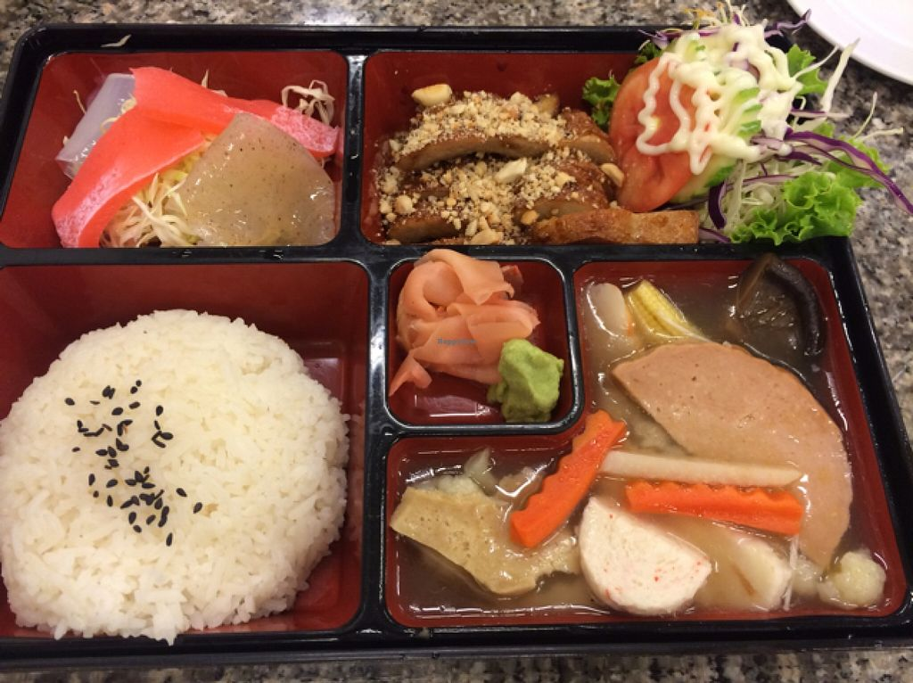 "Photo of Chijuya Restaurant - Jing Xin Health Food  by <a href=""/members/profile/solarkismet"">solarkismet</a> <br/>bento box  <br/> December 10, 2015  - <a href='/contact/abuse/image/24740/127783'>Report</a>"