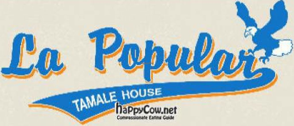 """Photo of La Popular Tamale House  by <a href=""""/members/profile/JesseMoreno"""">JesseMoreno</a> <br/>VEG Friendly 'TAMALES' <br/> April 17, 2012  - <a href='/contact/abuse/image/24783/227518'>Report</a>"""