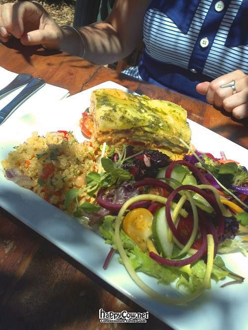"""Photo of Swan Valley Cafe & Tea House  by <a href=""""/members/profile/cseneque"""">cseneque</a> <br/>Raw lasagne with salads at the Swan Valley Cafe <br/> July 21, 2012  - <a href='/contact/abuse/image/24800/34735'>Report</a>"""