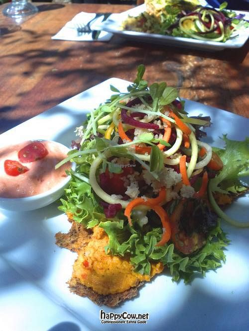 """Photo of Swan Valley Cafe & Tea House  by <a href=""""/members/profile/cseneque"""">cseneque</a> <br/>Raw pizza and salads from the Swan Valley Cafe <br/> July 21, 2012  - <a href='/contact/abuse/image/24800/34736'>Report</a>"""