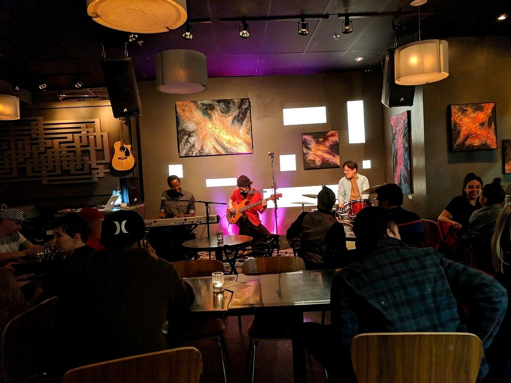 """Photo of Cafe Koi  by <a href=""""/members/profile/FurryFury"""">FurryFury</a> <br/>Live music <br/> January 30, 2018  - <a href='/contact/abuse/image/24815/352634'>Report</a>"""