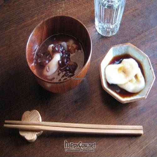 """Photo of HARU Cooking Class - Kyoto  by <a href=""""/members/profile/tarogm"""">tarogm</a> <br/>A picture of the dessert dish <br/> February 6, 2011  - <a href='/contact/abuse/image/24825/7343'>Report</a>"""