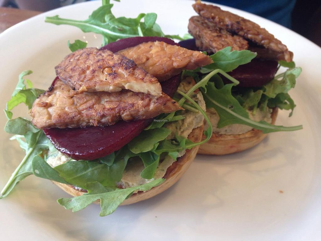 """Photo of Azul Cafe  by <a href=""""/members/profile/Tiggy"""">Tiggy</a> <br/>Vegan crumpet - January 2015 <br/> January 25, 2015  - <a href='/contact/abuse/image/24835/91390'>Report</a>"""