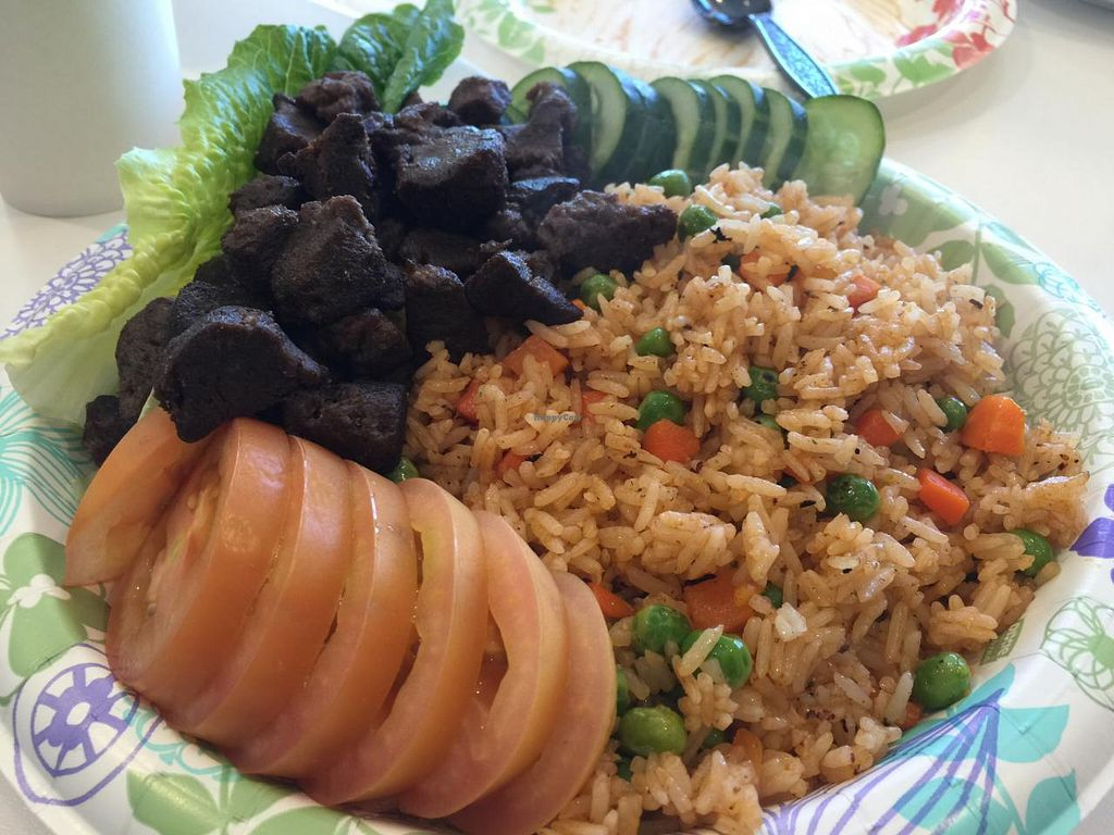 """Photo of Loving Hut  by <a href=""""/members/profile/Tata"""">Tata</a> <br/>Smoky fried rice <br/> January 14, 2015  - <a href='/contact/abuse/image/24851/90372'>Report</a>"""