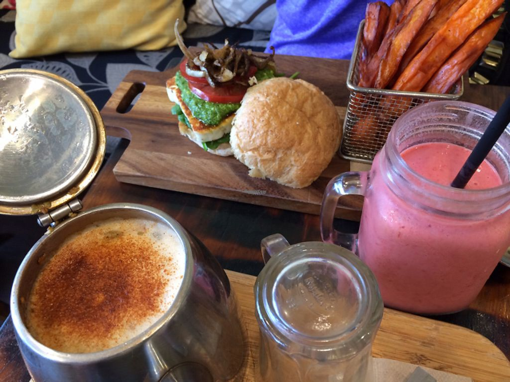 "Photo of Heart and Soul Organic Chai Cafe  by <a href=""/members/profile/KaitlinM"">KaitlinM</a> <br/>mmm <br/> March 16, 2017  - <a href='/contact/abuse/image/24897/236966'>Report</a>"
