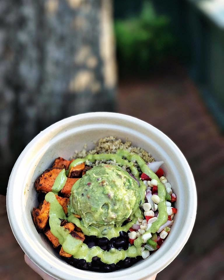 """Photo of Rosewood Market and Deli  by <a href=""""/members/profile/BryanT%40813"""">BryanT@813</a> <br/>Roasted Sweet Potato and Black Bean Power Bowl! <br/> November 2, 2017  - <a href='/contact/abuse/image/2491/321146'>Report</a>"""