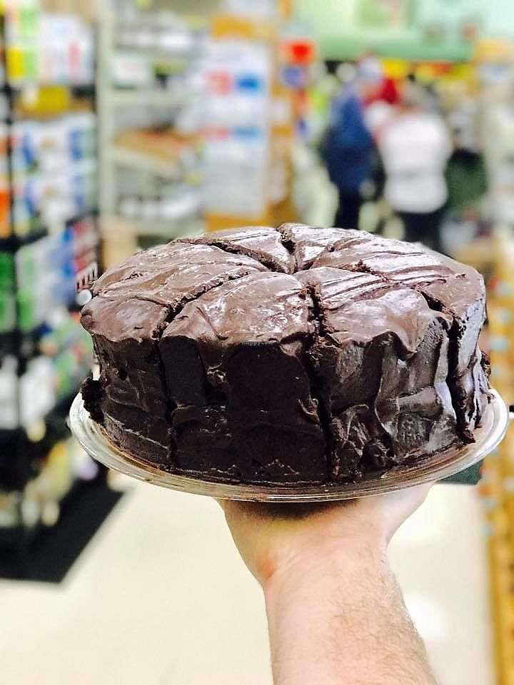 """Photo of Rosewood Market and Deli  by <a href=""""/members/profile/BryanT%40813"""">BryanT@813</a> <br/>Vegan and Gluten Free Chocolate Cake! <br/> November 2, 2017  - <a href='/contact/abuse/image/2491/321153'>Report</a>"""