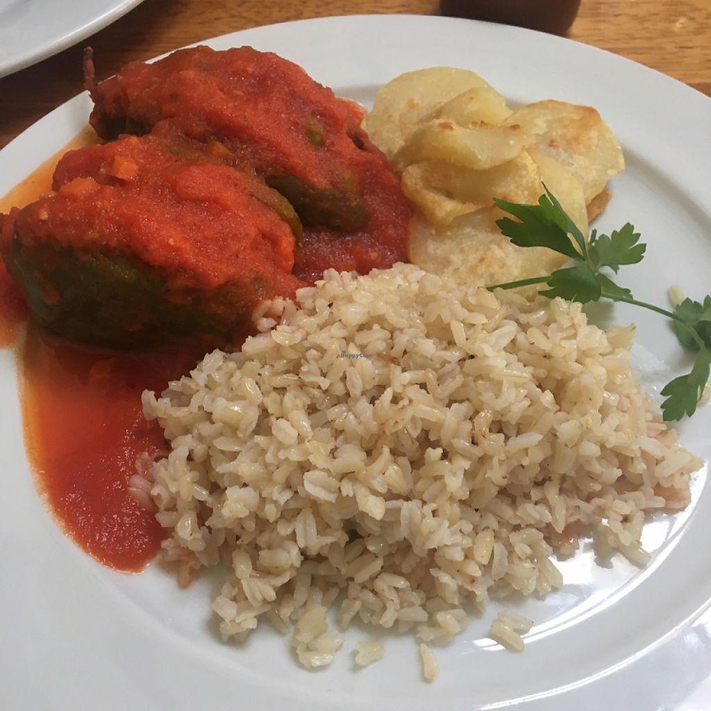 "Photo of La Granja de Heidi  by <a href=""/members/profile/Sarafink0511"">Sarafink0511</a> <br/>delicious Peruvian vegan dish <br/> May 15, 2017  - <a href='/contact/abuse/image/24965/259135'>Report</a>"