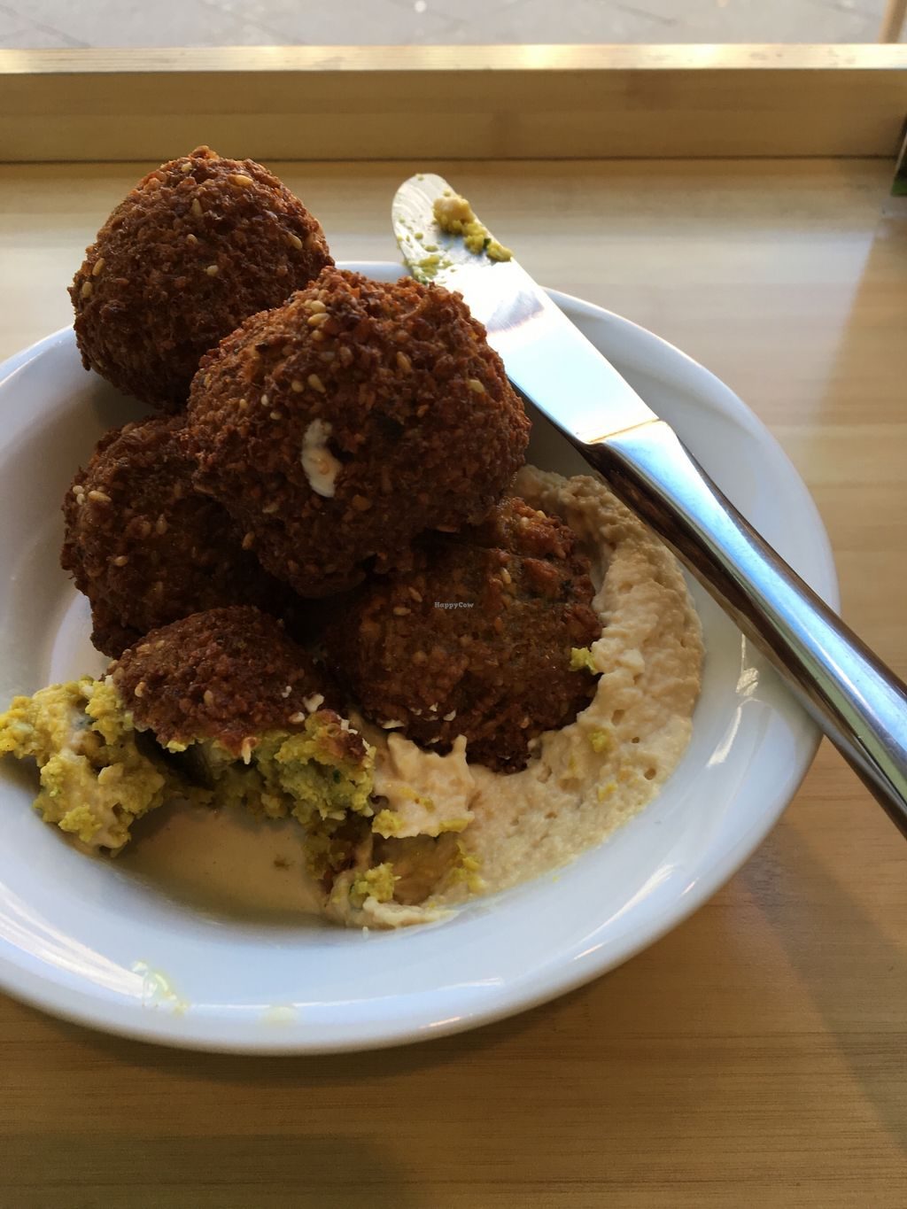 """Photo of Boussi Falafel - Berlin  by <a href=""""/members/profile/Mycall"""">Mycall</a> <br/>Small falafel box/bowl  <br/> March 1, 2018  - <a href='/contact/abuse/image/24981/365367'>Report</a>"""