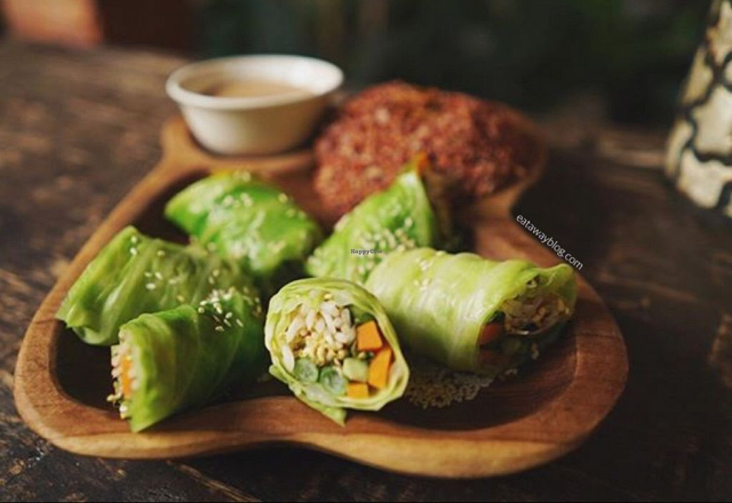 """Photo of Soma Cafe  by <a href=""""/members/profile/Eat%20Away"""">Eat Away</a> <br/>Gado Gado Rolls <br/> October 5, 2015  - <a href='/contact/abuse/image/24983/120269'>Report</a>"""