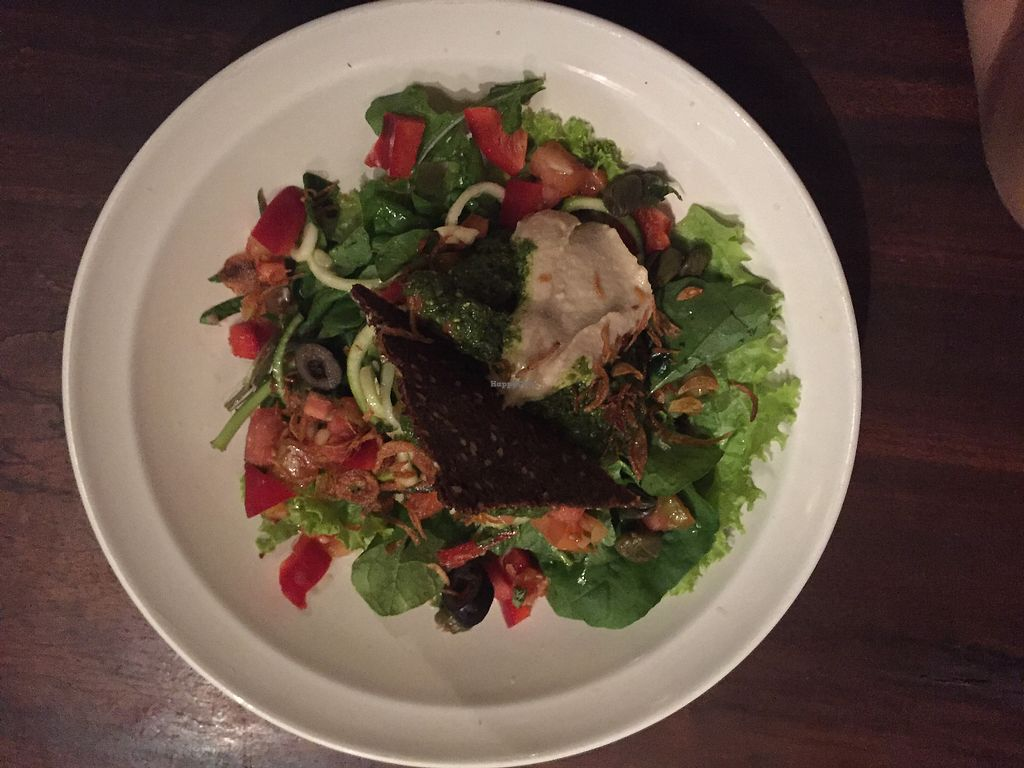"""Photo of Soma Cafe  by <a href=""""/members/profile/AstridRondolini"""">AstridRondolini</a> <br/>Raw zucchini noodle  <br/> March 1, 2018  - <a href='/contact/abuse/image/24983/365422'>Report</a>"""
