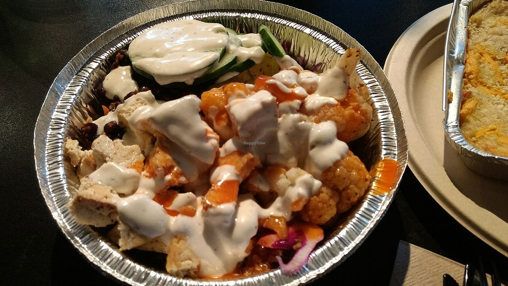 """Photo of Grins  by <a href=""""/members/profile/bduboff"""">bduboff</a> <br/>buffalo cauliflower bowl <br/> December 8, 2017  - <a href='/contact/abuse/image/2499/333524'>Report</a>"""