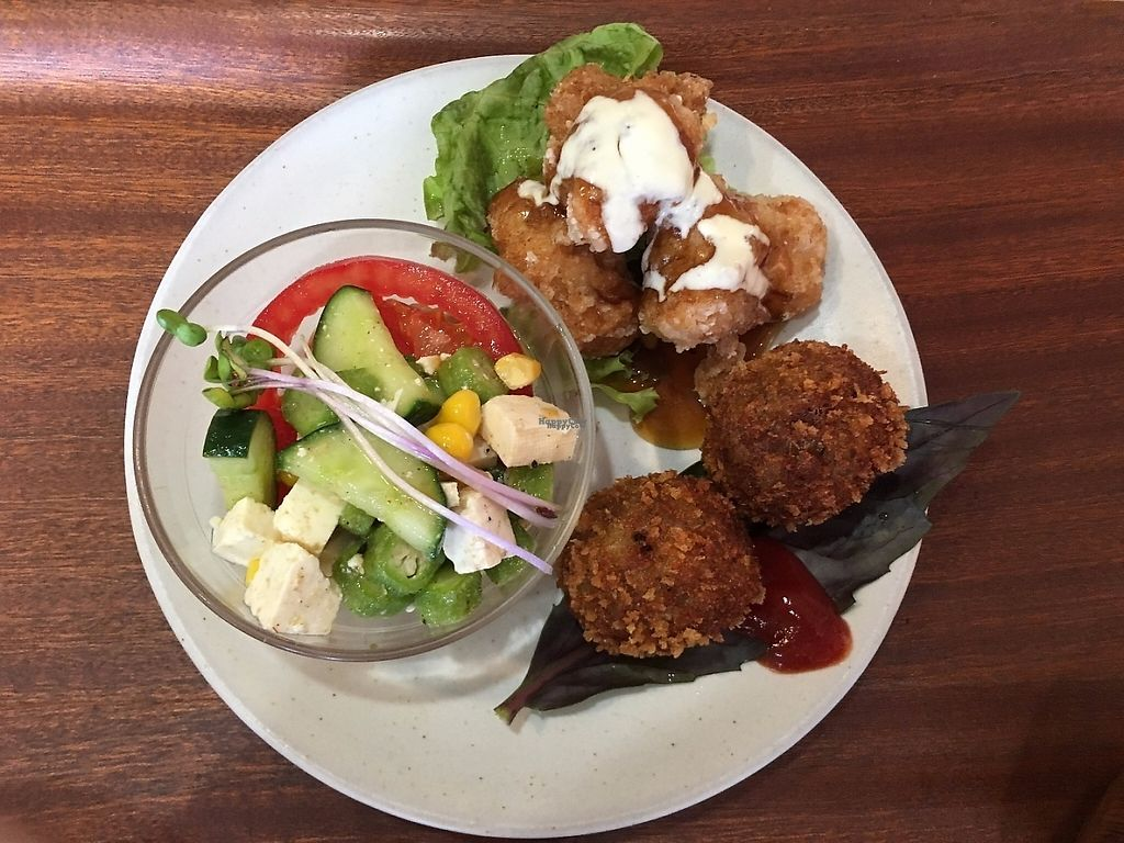 """Photo of Noppokun  by <a href=""""/members/profile/graceless02"""">graceless02</a> <br/>Two of the proteins and a small salad <br/> February 27, 2017  - <a href='/contact/abuse/image/25004/230916'>Report</a>"""