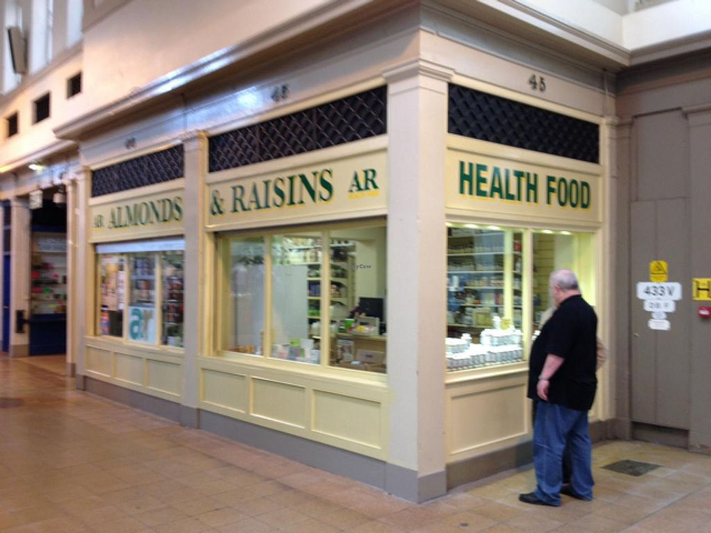 """Photo of Almonds and Raisins  by <a href=""""/members/profile/hack_man"""">hack_man</a> <br/>main front of shop  <br/> April 18, 2015  - <a href='/contact/abuse/image/25032/99432'>Report</a>"""