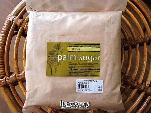 "Photo of Dhanyam Organic Super Store  by <a href=""/members/profile/Priya%20Venkat"">Priya Venkat</a> <br/>Dhanyam product line - organic palm sugar <br/> April 8, 2012  - <a href='/contact/abuse/image/25035/30340'>Report</a>"