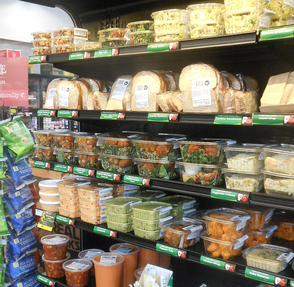 """Photo of Three Rivers Market  by <a href=""""/members/profile/ThreeRiversMarket"""">ThreeRiversMarket</a> <br/>Grab & Go Deli Case.  Large selection of vegetarian and vegan options!  Made fresh in-house daily.  <br/> July 26, 2017  - <a href='/contact/abuse/image/2504/285315'>Report</a>"""