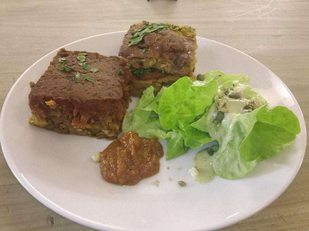 "Photo of The Wholefood Kitchen  by <a href=""/members/profile/cvxmelody"">cvxmelody</a> <br/>Corn fritter, lentil stack <br/> July 31, 2014  - <a href='/contact/abuse/image/25063/75651'>Report</a>"