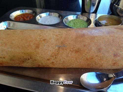 "Photo of Saravanaa Bhavan  by <a href=""/members/profile/Kittybiscuit"">Kittybiscuit</a> <br/>dosa <br/> December 24, 2013  - <a href='/contact/abuse/image/25071/60839'>Report</a>"