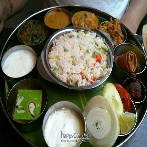"Photo of Saravanaa Bhavan  by <a href=""/members/profile/Mistress%20of%20Spices"">Mistress of Spices</a> <br/> February 24, 2011  - <a href='/contact/abuse/image/25071/7602'>Report</a>"
