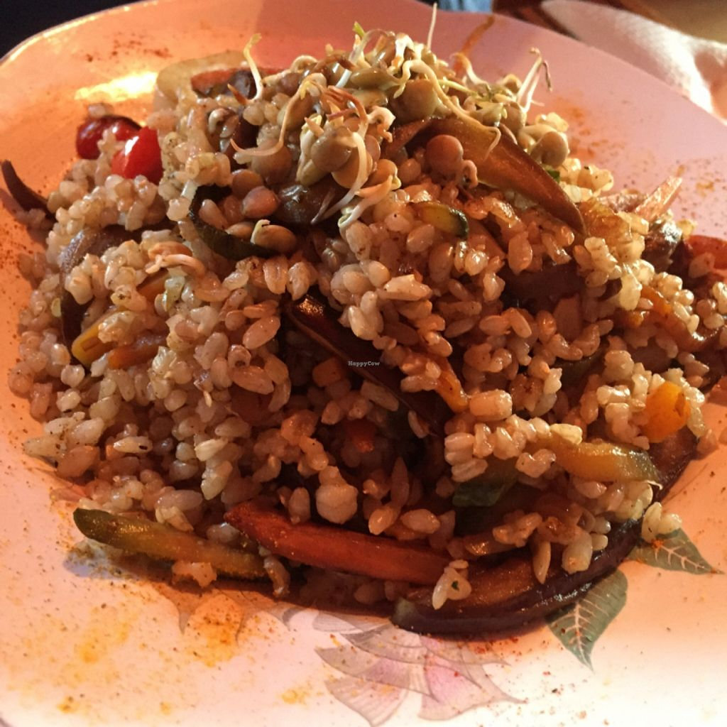 """Photo of Prana Bar Natural  by <a href=""""/members/profile/AshleyLorden"""">AshleyLorden</a> <br/>wok with rice and vegetables <br/> January 9, 2016  - <a href='/contact/abuse/image/25074/131599'>Report</a>"""