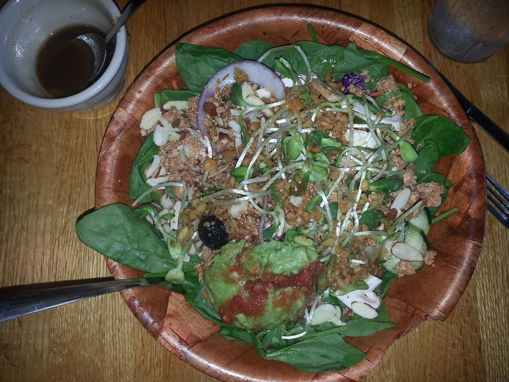 """Photo of Mother's Cafe and Garden  by <a href=""""/members/profile/SkipStein"""">SkipStein</a> <br/>Delicious Salad <br/> March 11, 2014  - <a href='/contact/abuse/image/2510/65682'>Report</a>"""