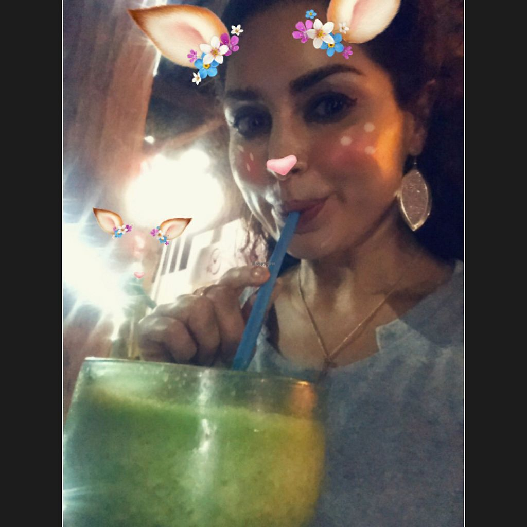 "Photo of Natura Restaurante  by <a href=""/members/profile/Miss.Saye"">Miss.Saye</a> <br/>#sayeschoice large green juice with no sugar <br/> June 4, 2017  - <a href='/contact/abuse/image/25113/265550'>Report</a>"