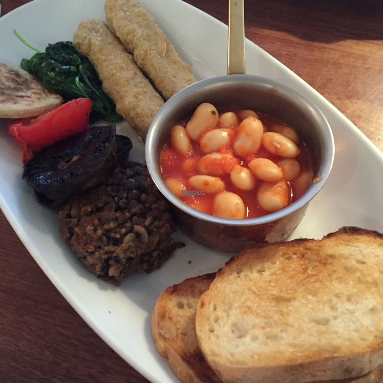 """Photo of Tapa - Pollokshaws Rd   by <a href=""""/members/profile/SaraFitz"""">SaraFitz</a> <br/>vegan breakfast ❤️❤️???? <br/> October 8, 2016  - <a href='/contact/abuse/image/25123/180735'>Report</a>"""