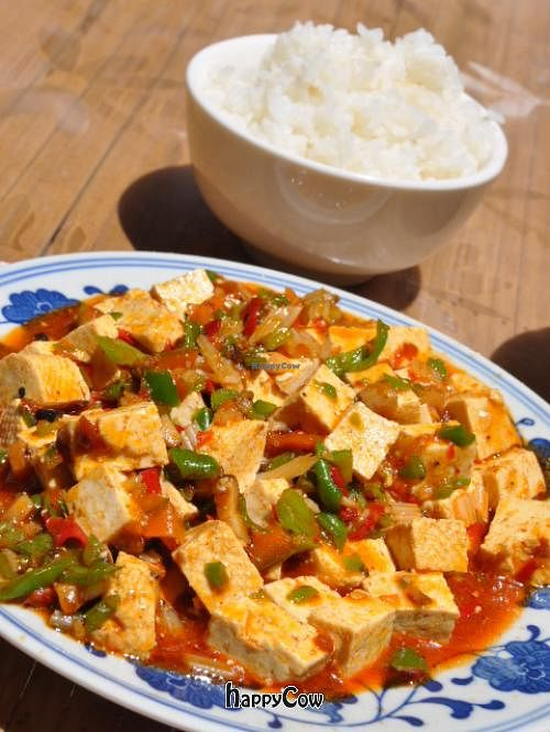 "Photo of Bamboo Temple Vegetarian Restaurant  by <a href=""/members/profile/mrswonderstuff"">mrswonderstuff</a> <br/>Mapo Tofu <br/> June 22, 2013  - <a href='/contact/abuse/image/25150/49922'>Report</a>"