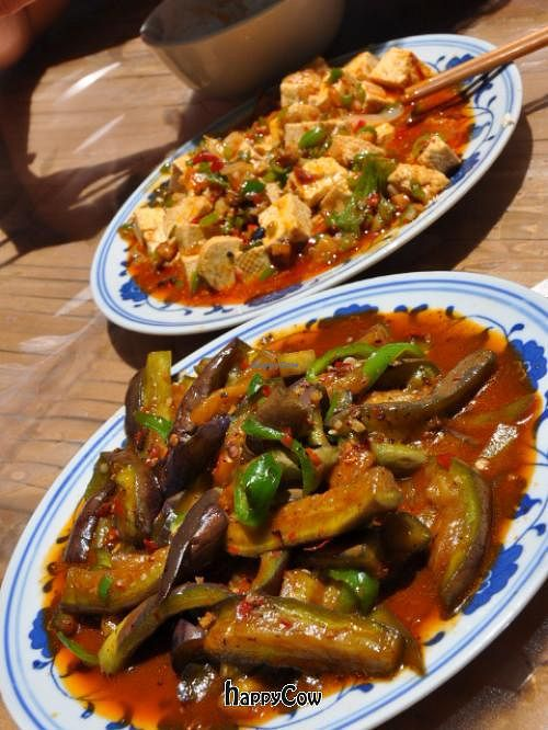 "Photo of Bamboo Temple Vegetarian Restaurant  by <a href=""/members/profile/mrswonderstuff"">mrswonderstuff</a> <br/>Aubergine dish <br/> June 22, 2013  - <a href='/contact/abuse/image/25150/49923'>Report</a>"