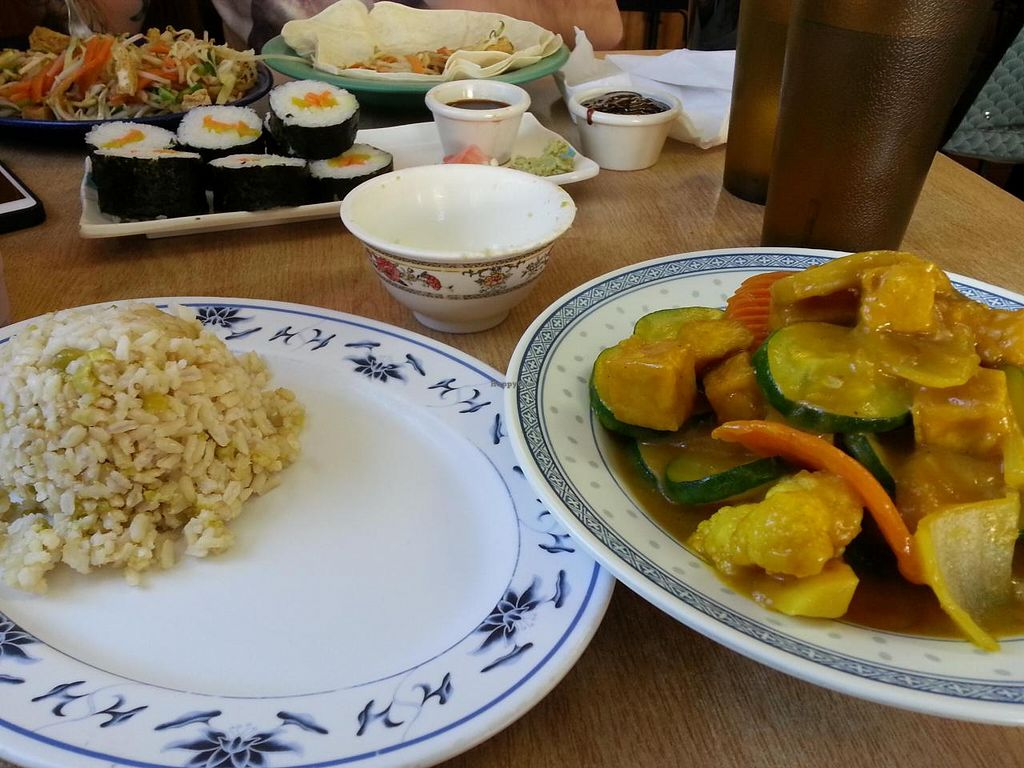 """Photo of Veggie Heaven  by <a href=""""/members/profile/Nikki1801"""">Nikki1801</a> <br/>Sushi <br/> July 21, 2014  - <a href='/contact/abuse/image/2515/74665'>Report</a>"""