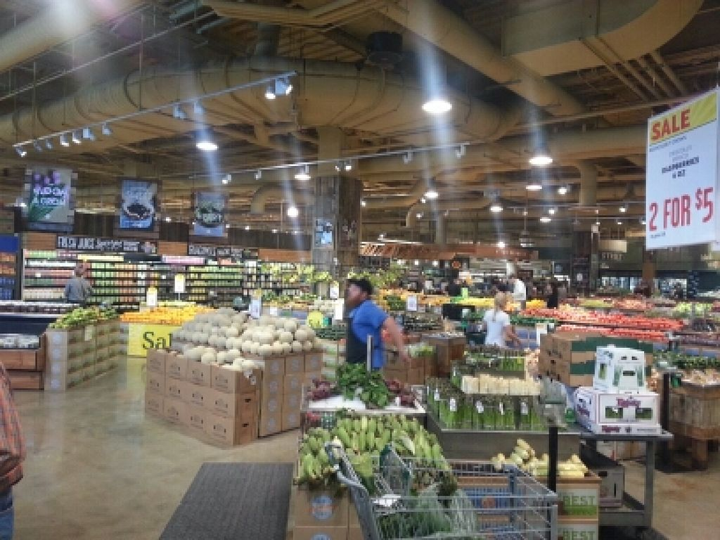 """Photo of Whole Foods Market - Lamar  by <a href=""""/members/profile/eric"""">eric</a> <br/>produce section <br/> April 4, 2016  - <a href='/contact/abuse/image/2520/142691'>Report</a>"""
