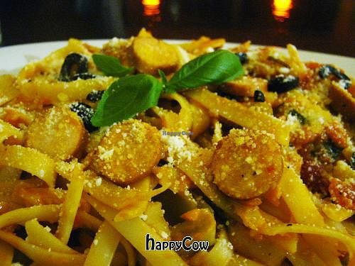 """Photo of Ahs-Wes  by <a href=""""/members/profile/spiritnoodles"""">spiritnoodles</a> <br/>Fettucini in Tomato, Basil and Zucchini Sauce <br/> August 20, 2012  - <a href='/contact/abuse/image/25244/36486'>Report</a>"""