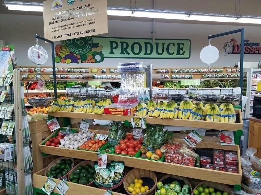 """Photo of Natural Grocers - Highlands Ranch  by <a href=""""/members/profile/kenvegan"""">kenvegan</a> <br/>produce <br/> August 14, 2016  - <a href='/contact/abuse/image/25251/191280'>Report</a>"""