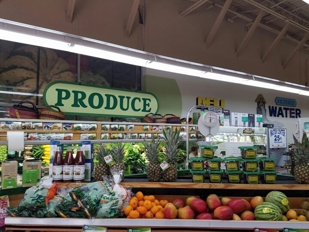 """Photo of Natural Grocers  by <a href=""""/members/profile/kenvegan"""">kenvegan</a> <br/>fresh produce <br/> August 15, 2016  - <a href='/contact/abuse/image/25258/169147'>Report</a>"""