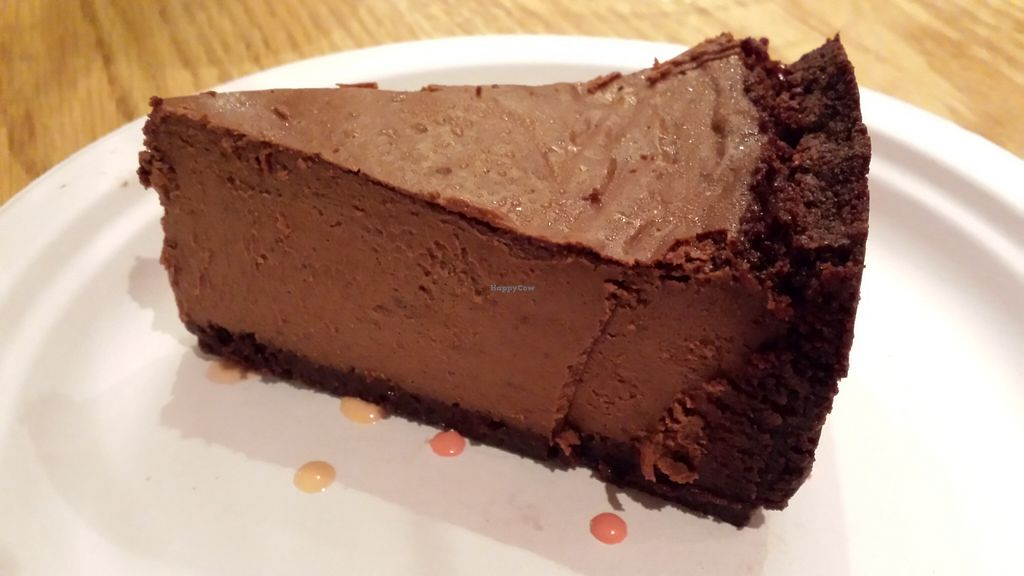 "Photo of Wildflower Earthly Vegan Fare  by <a href=""/members/profile/American%20Vegan"">American Vegan</a> <br/>chocolate cheesecake <br/> June 26, 2016  - <a href='/contact/abuse/image/25282/156194'>Report</a>"