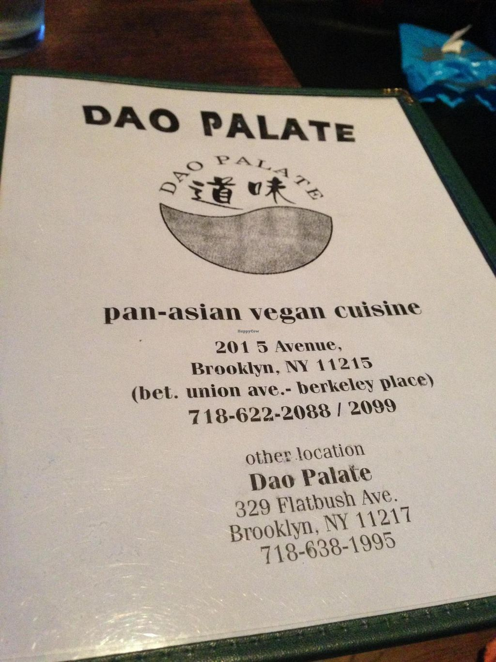 """Photo of CLOSED: Dao Palate - 5th Ave  by <a href=""""/members/profile/slo0go"""">slo0go</a> <br/>Menu <br/> August 24, 2014  - <a href='/contact/abuse/image/25292/78179'>Report</a>"""