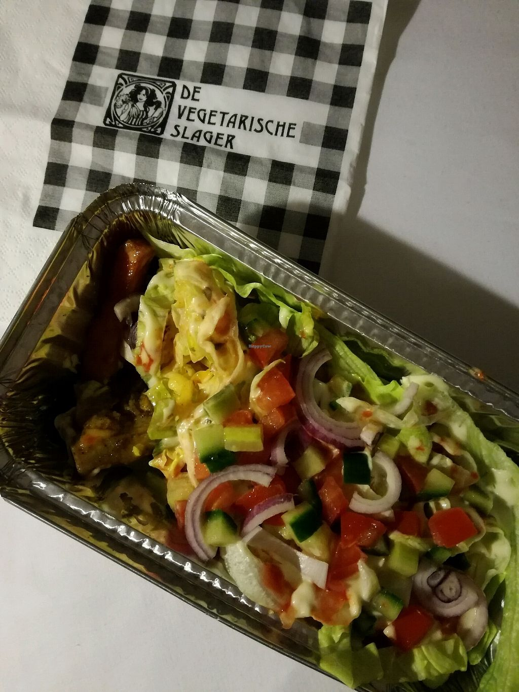"""Photo of De Vegetarische Slager - The Vegetarian Butcher  by <a href=""""/members/profile/adoremus523"""">adoremus523</a> <br/>shawarma! <br/> February 1, 2018  - <a href='/contact/abuse/image/25293/353699'>Report</a>"""