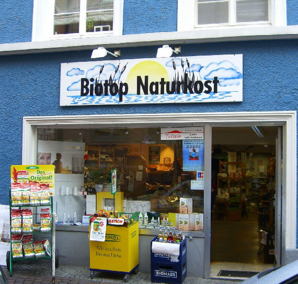 """Photo of Biotop Naturkost Naturwaren  by <a href=""""/members/profile/community"""">community</a> <br/>Biotop Naturkost Naturwaren <br/> February 15, 2017  - <a href='/contact/abuse/image/25306/226906'>Report</a>"""