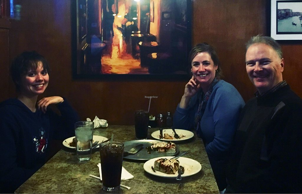 """Photo of WB Pizza - Allisonville Rd  by <a href=""""/members/profile/MaryMcNevin"""">MaryMcNevin</a> <br/>Great vegan dinner! <br/> November 25, 2017  - <a href='/contact/abuse/image/25317/329187'>Report</a>"""