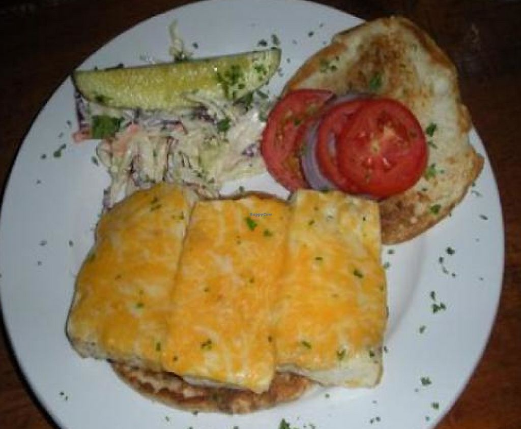 """Photo of CLOSED: The Lost and Found Saloon  by <a href=""""/members/profile/Julie%20R"""">Julie R</a> <br/>Chipotle Tofu Melt - YUM!  (You can leave off the chipotle if you want.) <br/> June 12, 2011  - <a href='/contact/abuse/image/25363/196682'>Report</a>"""