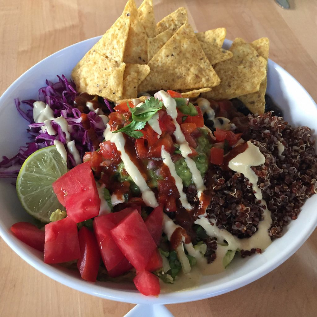 """Photo of Christopher's Kitchen  by <a href=""""/members/profile/caitcb"""">caitcb</a> <br/>spicy mexican bowl <br/> January 30, 2017  - <a href='/contact/abuse/image/25365/219506'>Report</a>"""