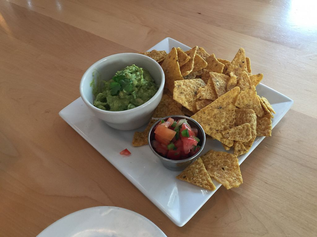 """Photo of Christopher's Kitchen  by <a href=""""/members/profile/rosamonique97"""">rosamonique97</a> <br/>Guacamole and chips  <br/> March 15, 2018  - <a href='/contact/abuse/image/25365/371126'>Report</a>"""