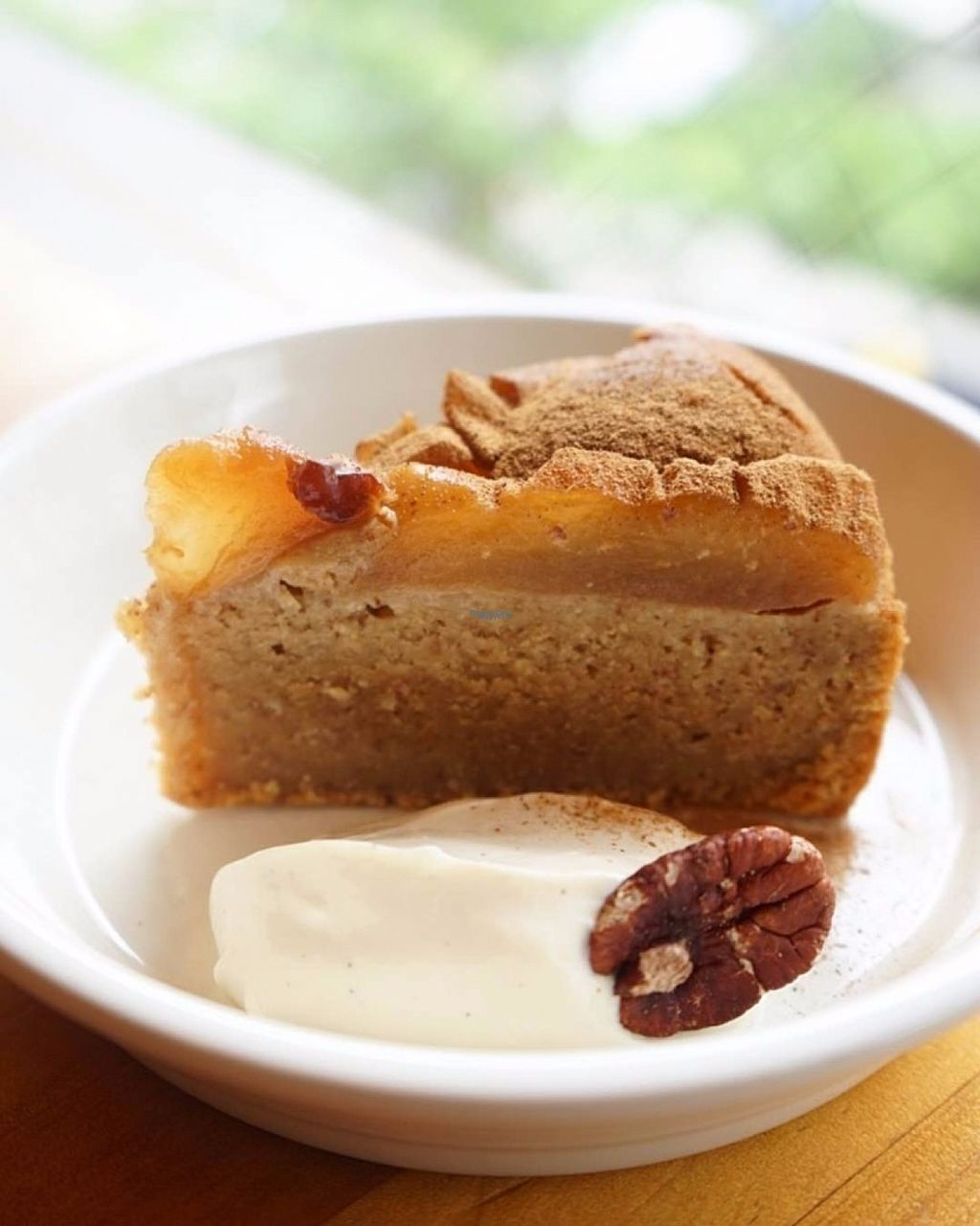 "Photo of Cafe Atl  by <a href=""/members/profile/EmmaCebuliak"">EmmaCebuliak</a> <br/>Apple cake with vegan whipped cream <br/> August 23, 2016  - <a href='/contact/abuse/image/25368/170943'>Report</a>"