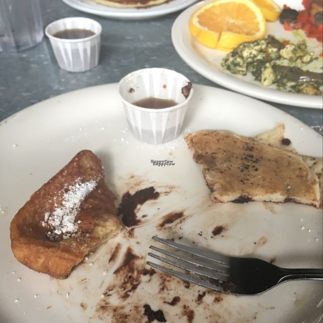 """Photo of Downbeat Diner and Lounge  by <a href=""""/members/profile/TiffanyGougeon"""">TiffanyGougeon</a> <br/>this is how good it was...best vegan food I found in Honolulu  <br/> September 26, 2016  - <a href='/contact/abuse/image/25374/178151'>Report</a>"""
